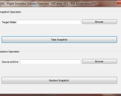 Flight Simulator Scenery Snapshot – FSCubed v2.0 USD$11.18
